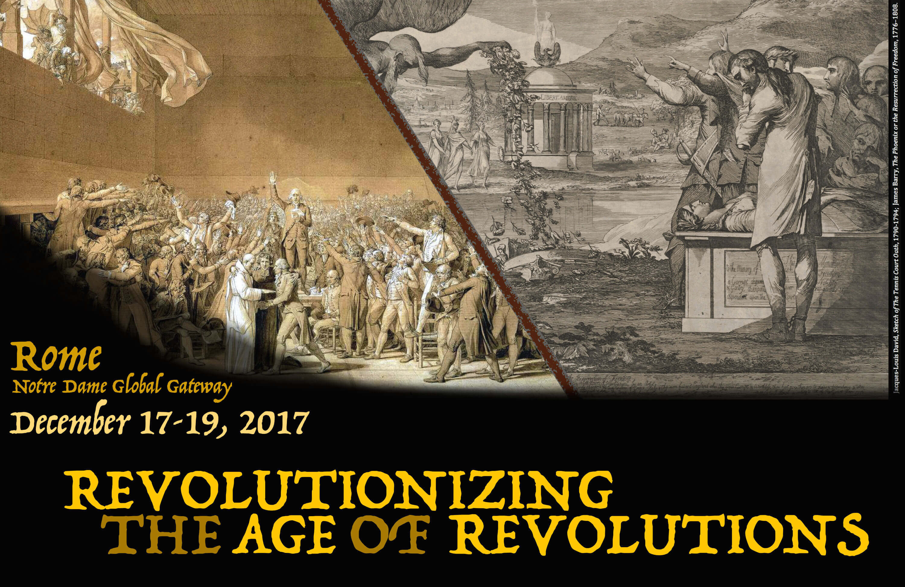 Revolutionizing the Age of Revolutions - Dec 2017